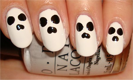 Skull Nails Nail Art Tutorial Step 3