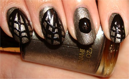 Spider & Web Nail Art Tutorial Step 4