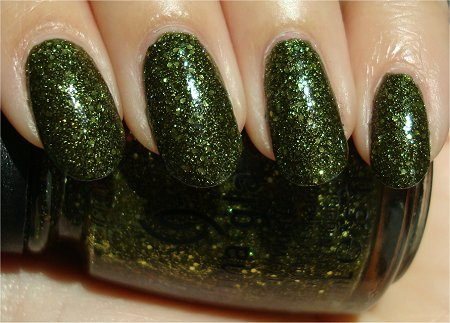 Sunlight China Glaze It's Alive Review & Swatch