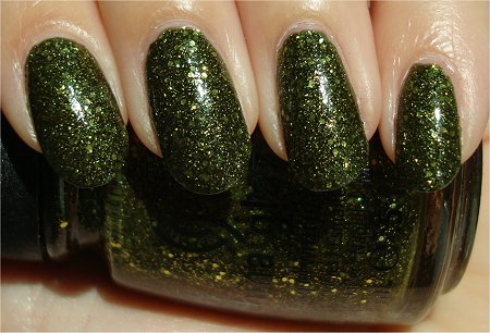 Sunlight China Glaze It's Alive Review & Swatches
