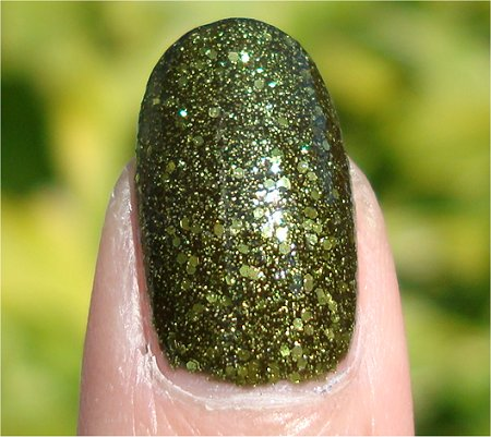Sunlight China Glaze Its Alive Swatch & Review