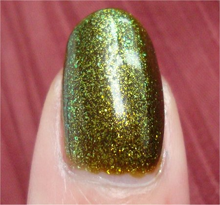 Natural Light China Glaze Zombie Zest Swatch & Review