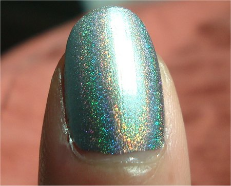 Sunlight Nfu Oh Swatches & Review Linear Holo Nail Polish