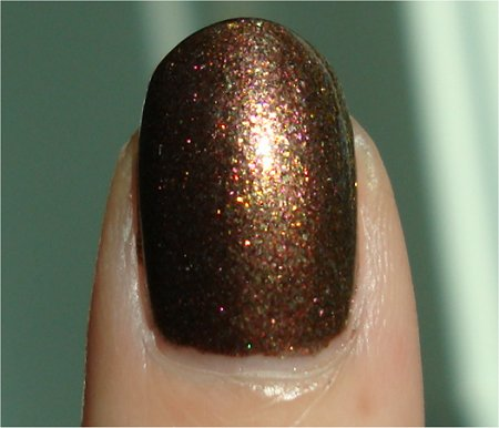 Sunlight OPI Muppets Collection Swatches Warm & Fozzie Swatch
