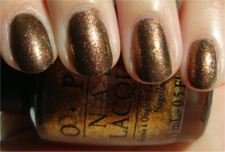 Sunlight OPI Warm & Fozzie Review & Swatch