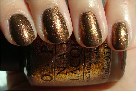 Sunlight OPI Warm & Fozzie Review & Swatches