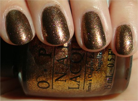 Sunlight OPI Warm & Fozzie Swatch & Review