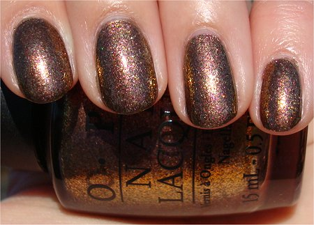 Sunlight OPI Warm and Fozzie Swatch & Review