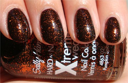 Sunlight Sally Hansen Pumpkin Spice Photos & Pictures