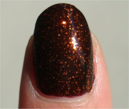 Sunlight Sally Hansen Pumpkin Spice Review & Swatch
