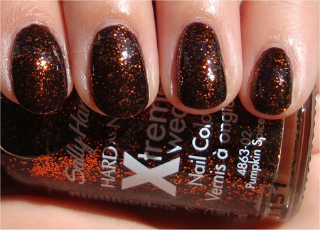Sunlight Sally Hansen Pumpkin Spice Swatch & Review