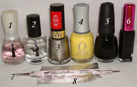 Swatch And Learn Spider Nails Tutorial Supplies