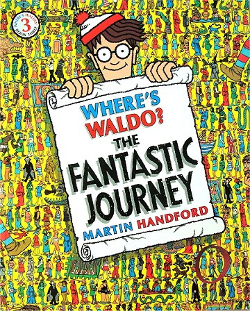 Where's Waldo The Fantastic Journey Book smaller