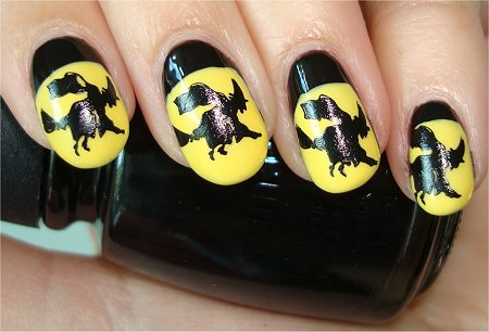 Witch Nail Art Tutorial Step 3
