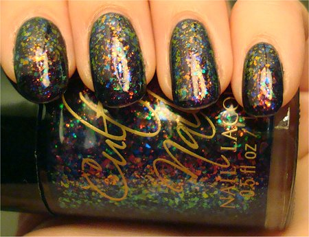 Artificial Light Cult Nails Nail Polish Unicorn Puke Swatch & Photos