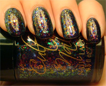 Artificial Light Unicorn Puke Clairvoyant Super Powers Collection Cult Nails Swatches & Review
