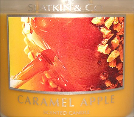 Bath and Body Works Caramel Apple Candle Review & Pictures