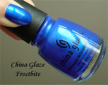 China Glaze Frosbite Bottle Picture