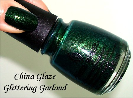 China Glaze Glittering Garland Bottle Pictures