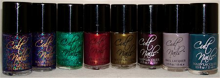 Cult Nails Nail Polish Haul & Pictures