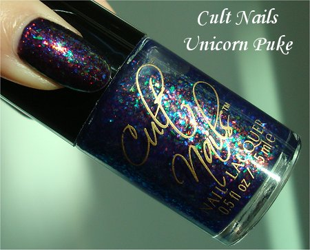 Cult Nails Unicorn Puke Bottle Pictures