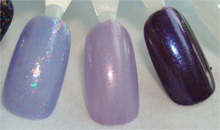 Cult Nails Unicorn Puke Swatch Clarins 230 Swatch Unicorn Pee Swatch OPI OPI Ink Swatch