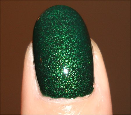 Flash China Glaze Glittering Garland Swatch, Review & Photos