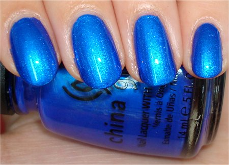 Flash Frostbite China Glaze Review & Swatches