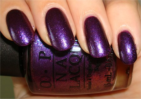 Flash Grape Set Match OPI Review & Swatch