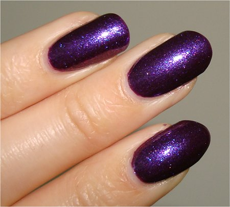 Flash OPI Grape. Set. Match Swatch & Review