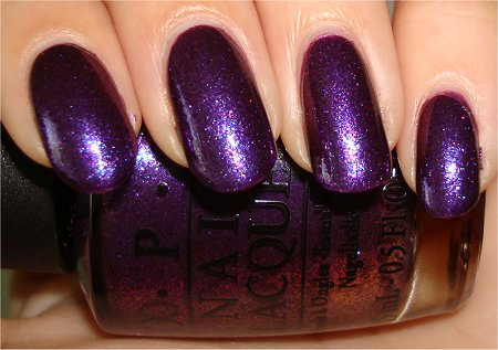 Flash OPI Grape. Set. Match Swatches & Review