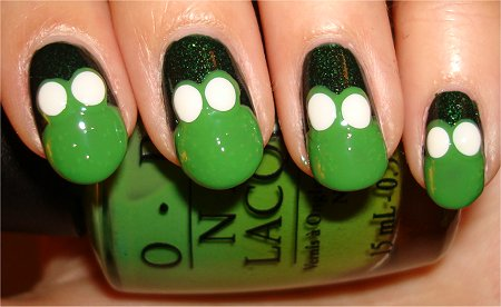 Frog Nail Art Tutorial Step 5