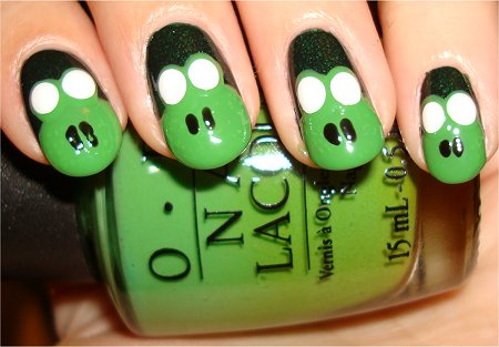 Frog Nail Art Tutorial Step 6