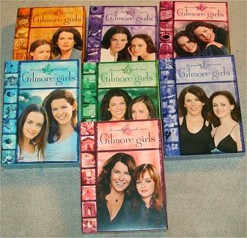 Gilmore Girls Season 1, 2, 3, 4, 5, 6 & 7