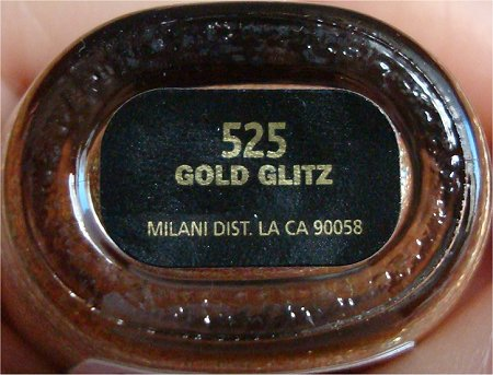 Milani Gold Glitz Review & Swatches