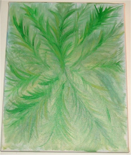 My Fern Painting