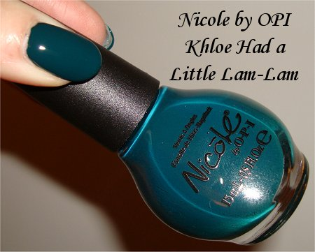 NOPI Khloe Had a Little Lam-Lam Swatch & Review
