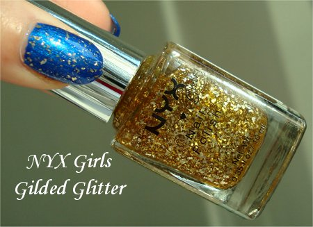 NYX Girls Gilded Glitter Review & Photos