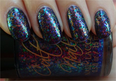 Natural Light Cult Nails Clairvoyant Swatches & Review Unicorn Puke Cult Nails