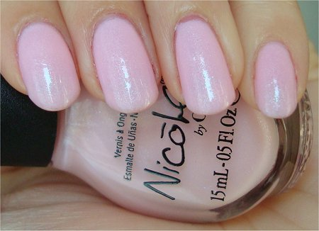Natural Light Nicole by OPI Kardashian Colors Collection Kim-pletely in Love Swatches & Review