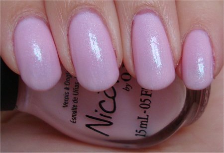 Natural Light Nicole by OPI Kimpletely in Love Review & Photos Kardashian Kolors Collection 2011