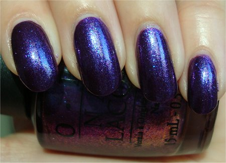Natural Light OPI Grape Set Match Swatch & Review