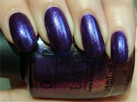 Natural Light OPI Grape...Set...Match Swatches & Review