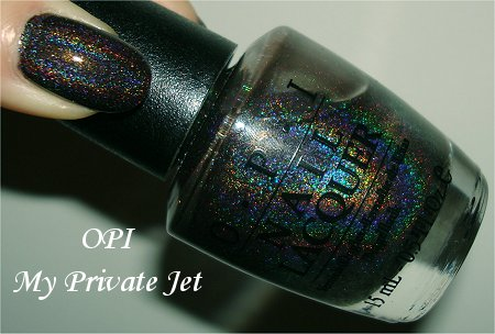 OPI My Private Jet Swatch, Review & Pictures