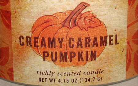 Pier 1 Imports Creamy Caramel Pumpkin Candle Review & Photos