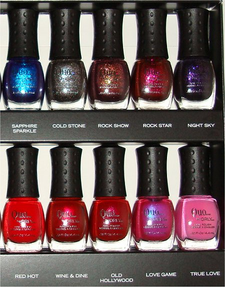Quo by Orly 18 Piece Mini Nail Polish Gift Set Photographs