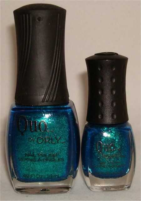 Quo by Orly Mini Polish vs Full Size Picture