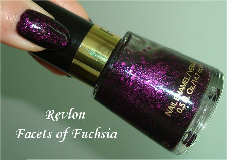 Revlon Facets of Fuchsia Pictures, Review & Swatches