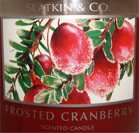 Slatkin & Co. Frosted Cranberry Review & Pictures