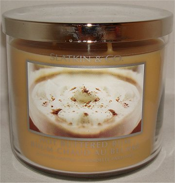 Slatkin & Co. Hot Buttered Rum Candle Review & Pictures